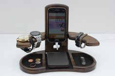 Mens Gift - Bedside Valet/Docking Station