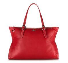 Czerwona torba z kolekcji Elegance.