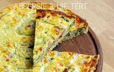 Asparagus and Chervil Quiche. This asparagus quiche is given an extra touch of flair through the inclusion of chervil. Perfect for a dinner party or light lunch. Quiches, Asparagus Quiche, Asparagus Appetizer, Asparagus Salad, Asparagus Recipe, Tacos, Great British Chefs, Picnic Foods, Picnic Recipes