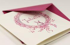 """Faire-part de naissance """"Laduree fille"""" by @Atlc Lcbody Fabric"""