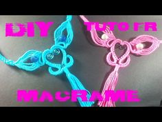 DIY - Tuto Collier en Macramé - YouTube