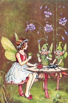 faerie and elves having tea!