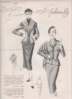 Modes Royale 1953/54