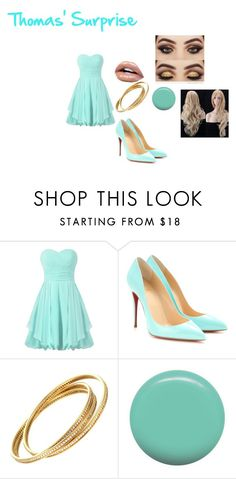 """""""Thomas' Surprise"""" by aliwonder on Polyvore featuring Christian Louboutin and Jin Soon"""
