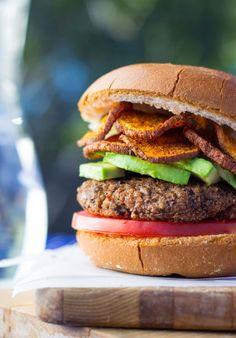 Easy Vegan Black Bean Burgers-7206
