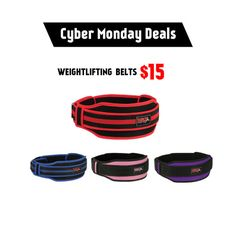 Weight Lifting belts for #men #women Cyber Monday discounts are...
