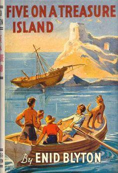 Famous Five Books, The Famous Five, Vintage Book Covers, Vintage Children's Books, Enid Blyton Books, Comics Vintage, Retro, Great Films, Book Cover Art