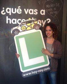 JESSICA CORONADO!!! #newdriver #hoyvoy #autoescuela #barcelona
