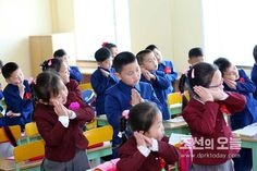 개학날- 평양제4소학교에서