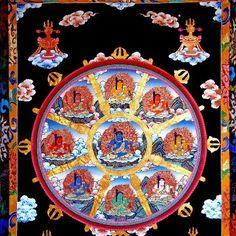 9-fold mandala of Fudo Myoô