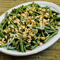 Stir-Fried Green Beans with Lemon, Parmesan, and Pine Nuts (and 10 More Delicious Recipes for Green Beans)  [from Kalyn's Kitchen]