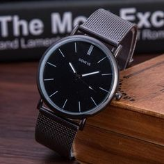 The Geneve Gunmetal Watch for 9.99