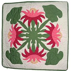 "Hawaiian Pink Lotus Flowers Hand Quilted Pillow Cover 16"" East of Maui Hawaiian Store,http://www.amazon.com/dp/B004A8OV58/ref=cm_sw_r_pi_dp_d1Kosb0RA1PPYK1X"