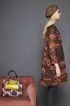 See the complete Orla Kiely Fall 2017 Ready-to-Wear collection.