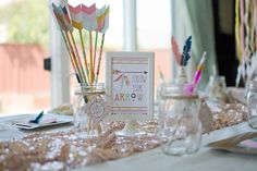 Tribal Princess Birthday Party via Kara's Party Ideas | KarasPartyIdeas.com (35)
