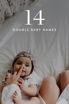 Want your baby's name to be original? Double baby names are the way to go. It's actually a Southern tradition to choose two monikers for your newborn, and it's totally trending. Here are 14 adorable combos that we love the most. Baby Names 2018, New Baby Names, Unisex Baby Names, Baby Names And Meanings, Classic Baby Boy Names, Western Baby Names, Twin Baby Names, Western Girl, Double Girl Names