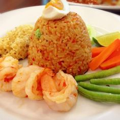 Thank you for following! - 16件のもぐもぐ - Spicy fried rice with prawns and crispy fish by Yui Phiphitphakdi