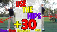 How to Use the Hips For Distance in Golf & Why You Don't Need Too | SSS