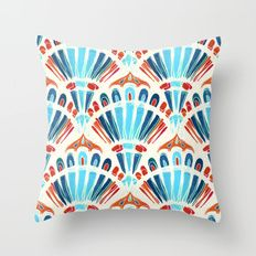 'Carnival ' Throw Pillow by micklyn Couch Pillows, Down Pillows, Throw Pillows, Canvas Prints, Art Prints, Pillow Inserts, Cotton Tote Bags, Color Patterns, Decorative Items