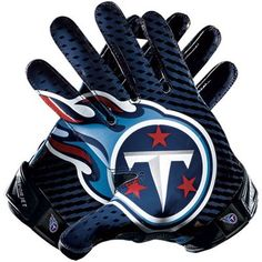 Nike Tennessee Titans Vapor Jet 2.0 Team Authentic Series Gloves ($99.95)