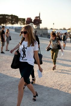 have always wanted a YSL tee |Pinned from PinTo for iPad|