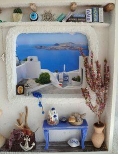 Greek Shadowbox    Please like, share :) http://www.fixaframe.com