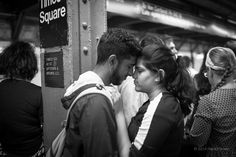 """""""A Moment"""" Times Square, New York City. © 2014 Harold Green."""