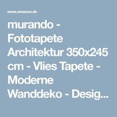 murando - Fototapete Architektur 350x245 cm - Vlies Tapete - Moderne Wanddeko - Design Tapete - Wandtapete - Wand Dekoration - Architektur Meer 0904-28: Amazon.de: Baumarkt