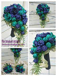 flax-bouquets - Kiwi ~ Aotearoa ~ Maori ~ Weddings ~ New Zealand Flax Weaving, Weaving Art, Basket Weaving, Wedding New Zealand, Flax Flowers, Rose Crafts, Fabric Roses, Flower Bouquet Wedding, Floral Designs