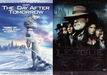 The Day After Tomorrow/The League of Extraordinary Gentlemen [2 Discs] [DVD]