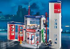 Caserne de pompiers - PM France PLAYMOBIL® France