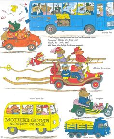 richard scarry car - Google Search