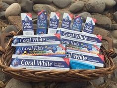 Enter for a chance to win one FULL YEAR of our Coral White Toothpaste! Like our page and share. That's all there is to it! Winner announced in January. Contest ends December 31, 2016!