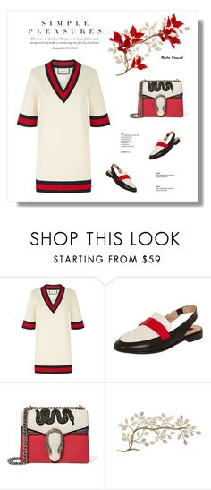 """Simple Pleasures 17.04.17"" by maitepascual on Polyvore featuring Gucci, Dorothy Perkins, DorothyPerkins, gucci and simplepleasures"