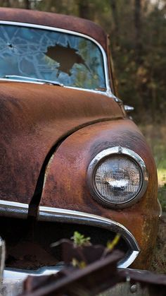 ^V^ cars sport cars cars vs lamborghini sports cars Abandoned Cars, Abandoned Places, Abandoned Vehicles, Vintage Trucks, Old Trucks, Danny Zuko, Rust In Peace, Rusty Cars, Barn Finds