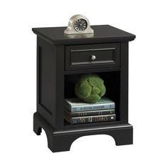 Home Styles Bedford Nightstand - Black