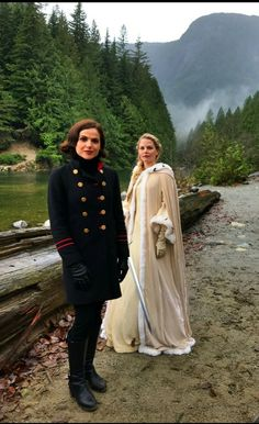 """""""Will Regina and Emma make it back to Storybrooke?!!! Tune in tomorrow to find out when #OnceUponATime returns! #EvilRegals"""""""