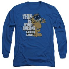 Garfield/Awesome-Royal Blue