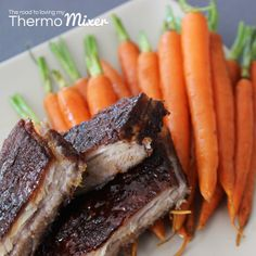 Created with Jamie | Pork Belly with Honey Spiced Glaze and Honey Carrots