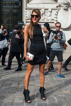 Неделя моды в Париже S/S 2015: street style. Часть II