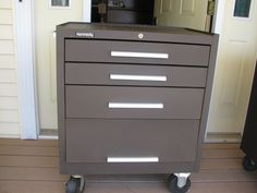 Kennedy 293 Roll Away  Metal Machinist Tool chest Cabinet  Box