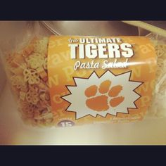 Clemson Pasta perfect for tailgating!