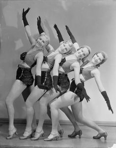 Albertina Rasch Dancers featured in The Band Wagon, 1931