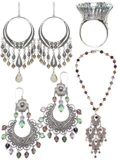 #Yvone Christa just arrived to our store! Beautiful filigree earrings make a statement gift!
