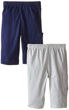 Gerber BabyBoys Pants BlueGrey 36 Months Pack of 2 *** Check this awesome product by going to the link at the image.
