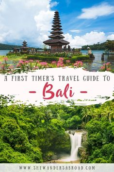 A First Timer's Travel Guide to Bali Are you planning to visit Bali for the first time? Then you need to read this post because this Bali travel guide covers all the important topics a first timer should know before visiting Bali! Bali Travel Guide, Thailand Travel, Asia Travel, Solo Travel, Travel Guides, Travel Tips, Disney Travel, Travel Articles, Travel Packing