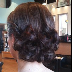 Wedding Updo! Hair by me!
