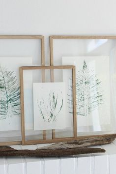 Plant prints to make yourself and hang up- Pflanzendrucke zum Selbermachen und Aufhängen Plant prints to make yourself and hang up # hang up # plant prints # do it yourself - Diy Wand, Mur Diy, Cuadros Diy, Wine Bottle Crafts, Home And Deco, Hanging Plants, Diy Hanging, Cool Diy, Diy Furniture