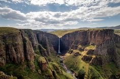 Lesotho Landscape Photography, Travel Photography, Adventure Tours, How To Find Out, Waterfall, Road Trip, Scenery, Vacation, Africa