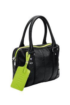 Mini by Puma  Black leather.  Bag  MIni  Puma Black Leather Bags ae0f8d750b